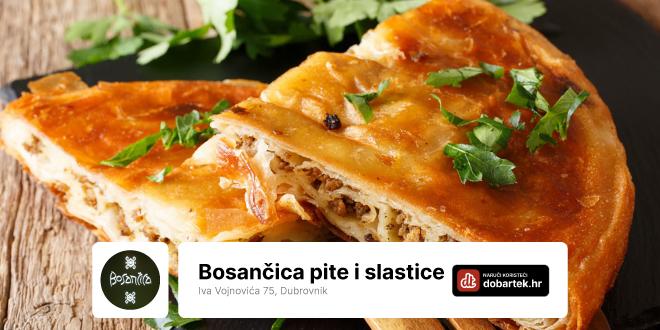 Znaš li za pite i slastice iz Bosančice?