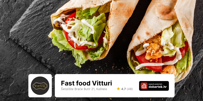 Fast food Vitturi može ti popraviti dan