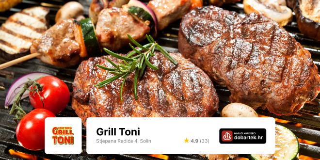 Fast food Grill Toni