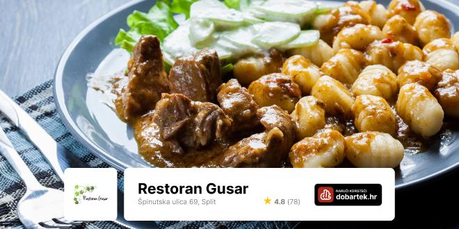 Restoran Gusar pravi je hit!