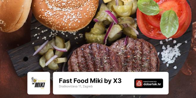 U fast foodu Miky by X3 nađe se za svakoga ponešto