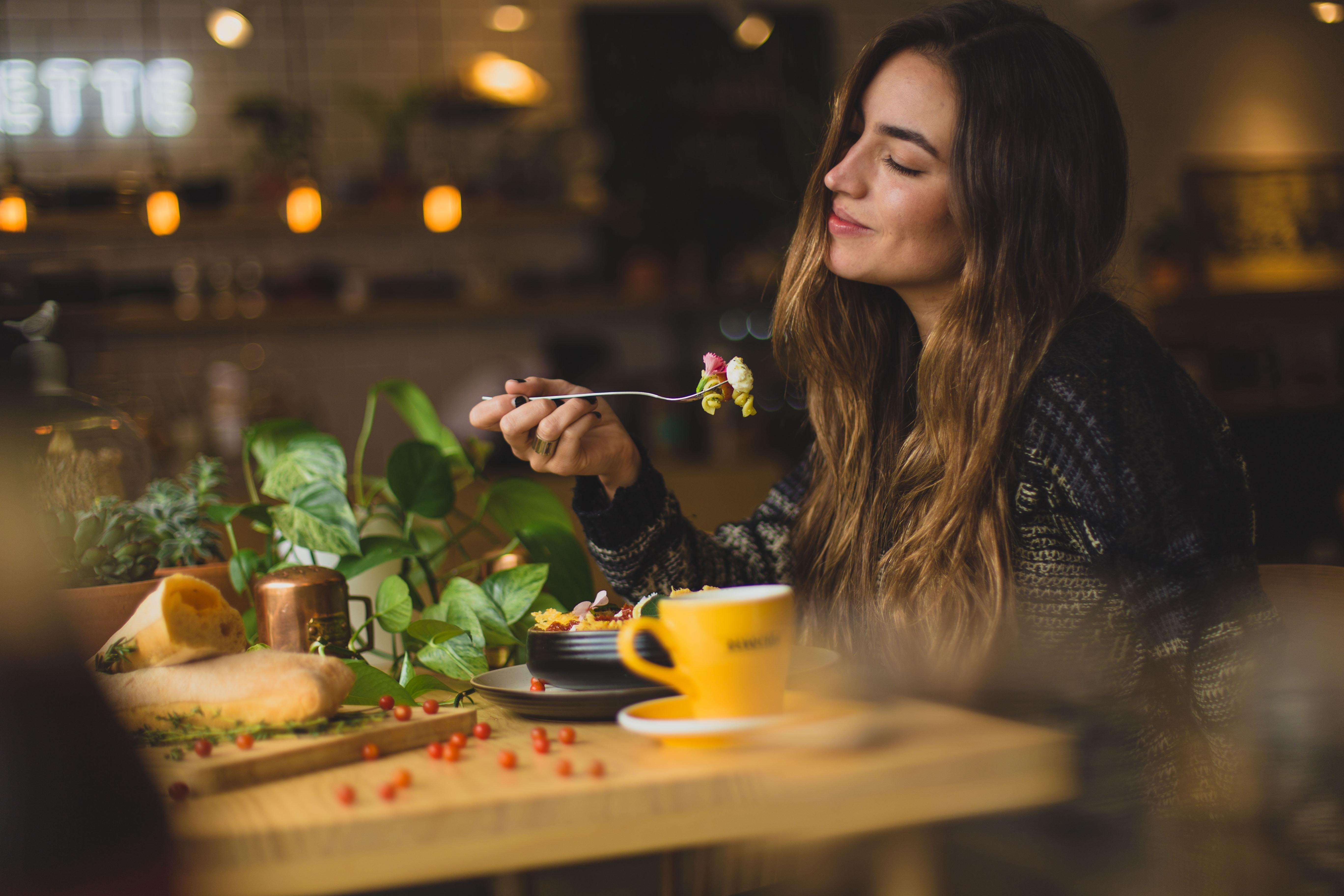Ivana jede